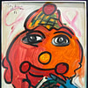 Peter Keil Painting American Clown 1983