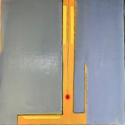 Adele Mailer T Abstract Oil on Canvas 1985