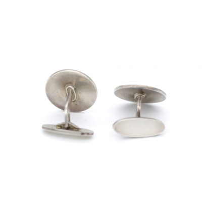 Georg Jensen Sterling Bull Cufflinks1