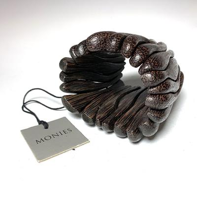 Monies Palm Wood Bracelet