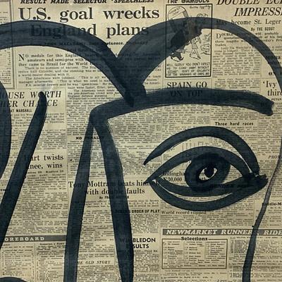 """Peter Keil """"Studio Miro"""" Acrylic Painting"""