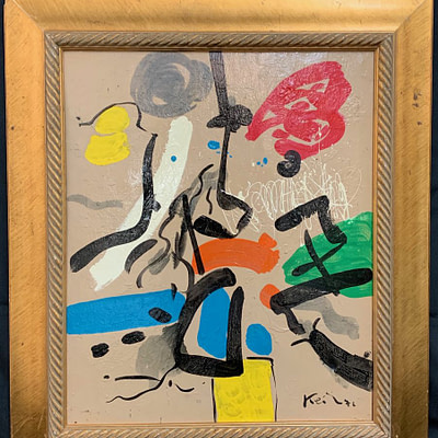 Peter Keil Abstract Composition 1