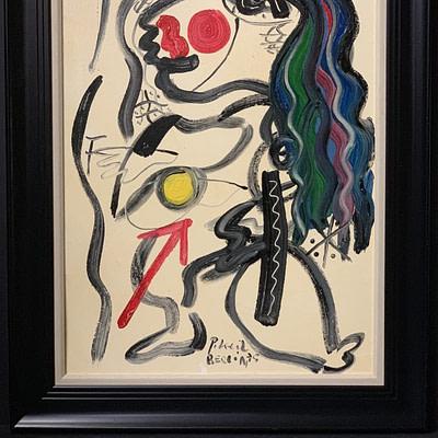 """Peter Keil """"Horse"""" Oil Painting"""