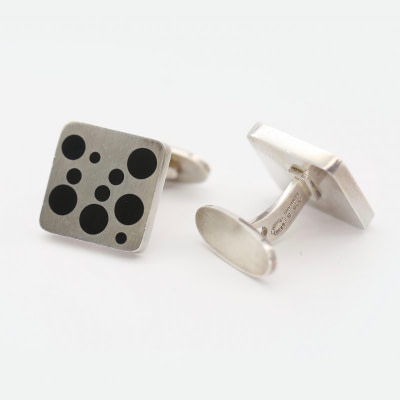 Jensen Sterling Cufflinks by Magnus Stephensen No93